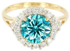 Blu-VS2-diamante-anello-oro