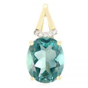 ciondolo-in-oro-con-fluorite-blu-caraibico-9562ob