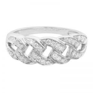 Anello con diamanti Juwelo
