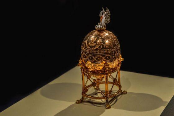 Un altro pregiato uovo della collezione Fabergè