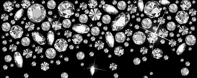 sfondo con diamanti