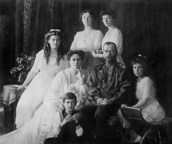 famiglia romanov zar