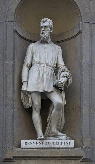 statua di benvenuto cellini