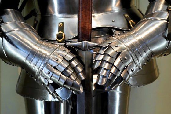 armatura da cavaliere