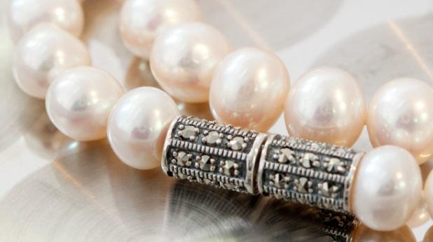 Collier con perle barocche