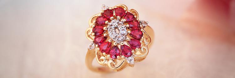 Gioielli di design: Anello in Oro con Rubino Juwelo